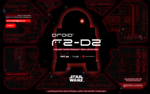 Motorola Droid2- R2D2 Edition